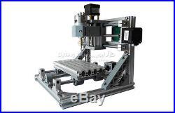 Mini CNC 1610 + 500mw laser CNC engraving machine Pcb Milling wood router