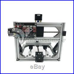 Mini CNC 1610 Mill + 500mw Laser CNC Engraving Machine PCB Milling Wood Router