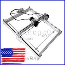 Mini DIY Laser Engraving Machine 2500MW Unassembled Image Lasergravur Cutter USA