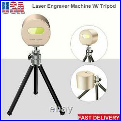Mini Laser Engraver Desktop Engraving Cutting Machine Logo Picture Print +Tripod