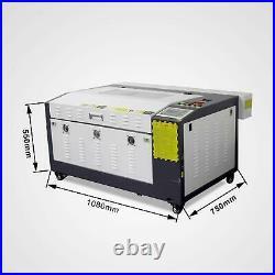 Motor Z 600mm x 400mm Desktop 50W Co2 Laser Engraver Cutter Machine CorelLASER
