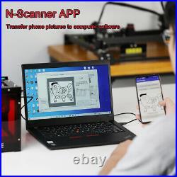 NEJE 10000mW Laser Engraver Engraving Machine Desktop DIY Cutter Printer APP