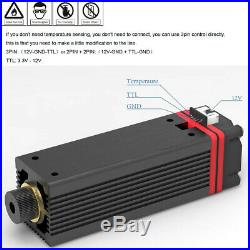 NEJE 20W 450nm laser module head for CNC laser engraving cutting machine