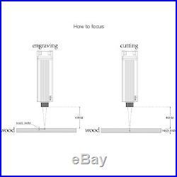 NEJE 20W 450nm laser module head kits for CNC laser engraving cutting machine