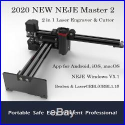 NEJE 20W CNC router Laser Engraver Engraving Carving cutting Machine Printer DIY