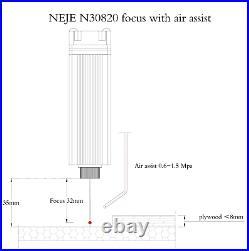 NEJE 2S 20W CNC router Laser Engraver Engraving Carving cutting Machine Printer