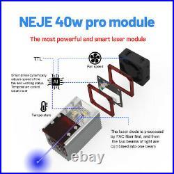 NEJE 2s max 40W pro CNC laser engraving cutting machine laser cutter engraver