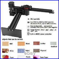 NEJE 7W Mini Desktop Laser Engraver Engraving Carving Machine LOGO DIY Printer