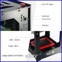 NEJE DK-8-KZ 3D USB Laser Engraver Printer Automatic Engraving Cutting Machine