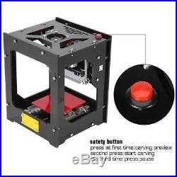 NEJE DK-BL 1500mW 405nm Laser Logo Engraver Engraving Carving Machine Printer im