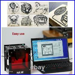 NEJE KZ 10W 450nm Mini Laser Engraving Machine Off-line Engraver Print Carving