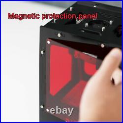 NEJE KZ 10W mini laser engraving carving machine engraver mark DIY Logo Printer