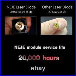 NEJE Master 2 20W CNC Laser Engraving Cutter Machine Carver Printer Wireless DIY