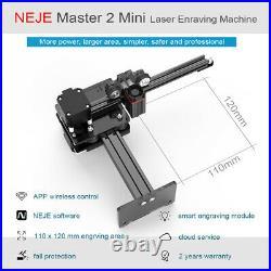 NEJE master 2 10W mini Laser Engraving Machine engraver Printer Art Craft DIY