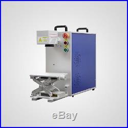 New! 20W Fiber Laser Marking Machine Portable Machine With Aluminum Profile