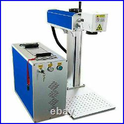 New 30W Fiber Laser Marking Engraving Machine 5.9x5.9 Metal Engraver 110V US
