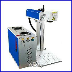 New 30W Fiber Laser Marking Machine Metal Engraver Engraving High Precision