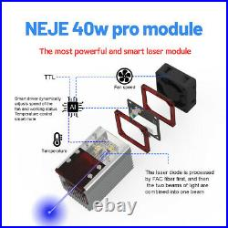 New 30With40W CNC Laser Module head kit FOR Laser engraving cutting machine Cutter