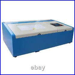 New 40W CO2 Laser Engraver Clamp Laser Engraving Cutting Machine Laser Tube