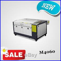 New! 50W CO2 LASER ENGRAVING & CUTTING MACHINE 400mm600mm WITH CE, FDA
