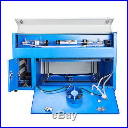 New 50W CO2 USB Laser Engraving Cutting Machine Engraver Cutter woodworking