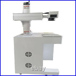 New! 50W Fiber Laser Marking Machine USB metal cut, Aluminum mark deep cut PC