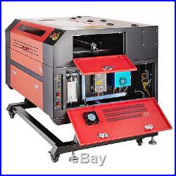 New Engraver Cutter with USB Interface Laser Engraving Machine 60W 110V CO2