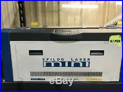 Nice Epilog Mini 24x12 50 Watt Laser Engraver Engraving Machine, rotary included