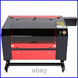 OMTech 28x20 80W CO2 laser Engraver Cutter Ruida with CW-5200 Water Chiller