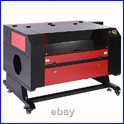 OMTech 28x20 80W CO2 laser Engraver Cutter Ruida with CW-5202 Water Chiller