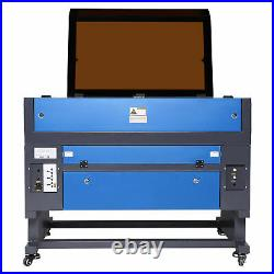 OMTech 28x20 inch 60W CO2 laser Engraver Cutter Ruida with CW-5202 Water Chiller
