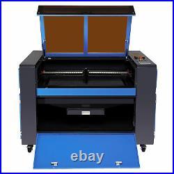 OMTech 35x24 80W CO2 Laser Engraver Cutter Moterized Workbed with Lightburn