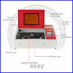 OMTech 40W 12x 8 Cutting Engraving Marking Machine CO2 Laser Engraver Cutter