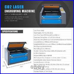 OMTech 60W 24 × 16 CO2 Laser Engraver Cutter Engraving Cutting Machine Ruida
