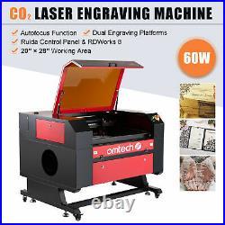 OMTech 60W 28x20 CO2 Laser Engraver Cutter Cutting Engraving Ruida Autofocus