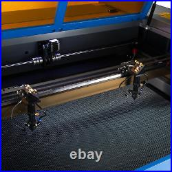OMTech 80W 24x40 CO2 Laser Engraver Cutter with Dual Tubes & Rotary Axis A