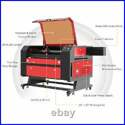 OMTech CO2 Laser Cutting Machine 80W with 28x20 Bed Autofocus and Ruida Controls