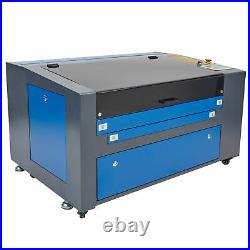 OMTech Upgraded 60W 24x16 CO2 Laser Engraver Cutter with Rotary Axis Ruida