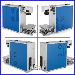 Portable 20W Fiber Laser Marking Machine Laser Engraver Printer Metal Engraving