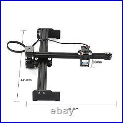 Portable 20W High Speed Mini Desktop Laser Engraver Printer Art Craft DIY