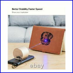 Portable Laser Engraving Cutter Machine DIY Desktop Mini Home Printer Engraver
