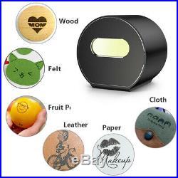 Portable MIni Laser Engraving Cutting Machine Engraver DIY Logo Mark Printer App