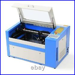 Preenex 50W CO2 Laser Engraver Cutter Engraving Machine 20''×12'' w. Rotary Axis