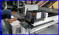 Raycus 1000W CNC metal fiber laser cutting machine stainless carbon brass cut
