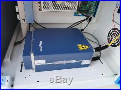 Raycus 50W Fiber Laser Marking Machine USB metal cut jewelry gun mark deep