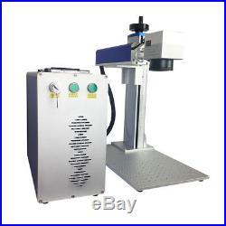 Raycus 50w fiber laser metal marking engraving machine 200200mm Laser cutter