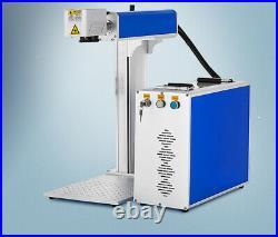Raycus Laser 50W Fiber Laser Marking Engraving Machine Metal Jewelry Mark FDA CE