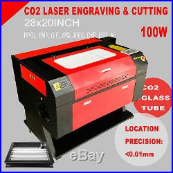 Ridgeyard 100W CNC CO2 CNC Laser Engraver Cutter Engraving Machine + Rotary Axis