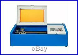 Ridgeyard 40W CO2 Laser Engraver Cutting Machine Crafts Cutter USB 300x200mm