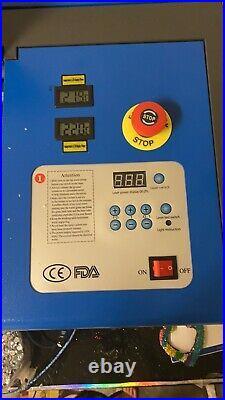Ridgeyard 40W CO2 Laser Engraving Cutter Cutting Machine